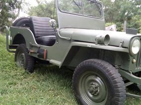 Jeep Willys 4x4 Guerrero Funcionando