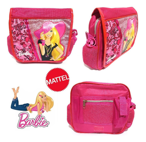 Bolso Morral Infantil Barbie Súper Lujo Original