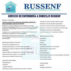 Servicio De Enfermería A Domicilio Russenf
