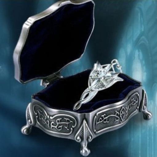 Colar Evenstar - Arwen - Senhor Dos Anéis - Réplica + Baú