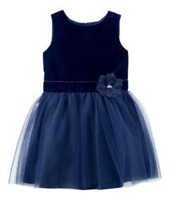 Vestido Tuli Carters Azul