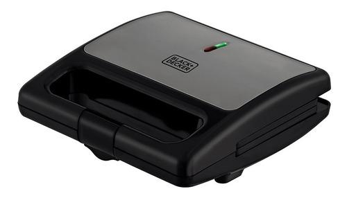Sanduicheira Elétrica 750w Black+decker Sm750 - 220v