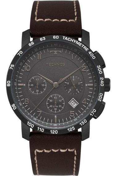 Relógio Technos Masculino Skymaster Preto 6s20ab/2p