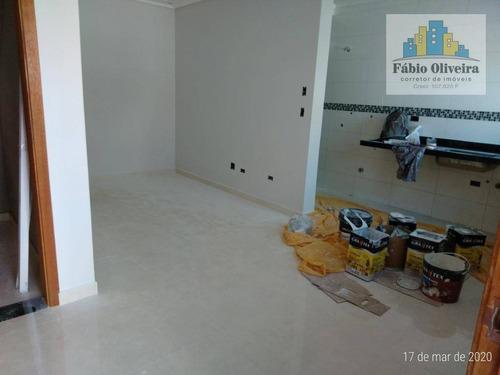 Sobrado Com 2 Dormitórios À Venda, 60 M² Por R$ 320.000 - Jardim Ipanema - Santo André/sp - So0455