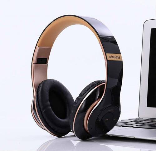 Imagem 1 de 6 de Fone De Ouvido Headphone Micro Sd Usb Fm Bluetooth