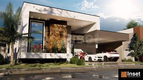 Imagem 1 de 9 de Casa Com 4 Dormitórios À Venda, 206 M² Por R$ 1.275.000,00 - Condomínio Arco De Paris - Foz Do Iguaçu/pr - Ca0664