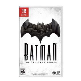 Jogo Nintendo Switch Batman The Telltale Series Midia Fisica