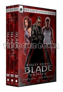 Blade Saga Colección Completa Dvd Latino Marvel Vampiro Saga
