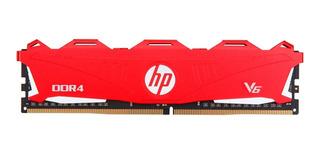 Memoria Hp V6 Series 8gb 2666mhz Ddr4 Rojo Mexx