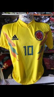Camisa Seleção Da Colômbia