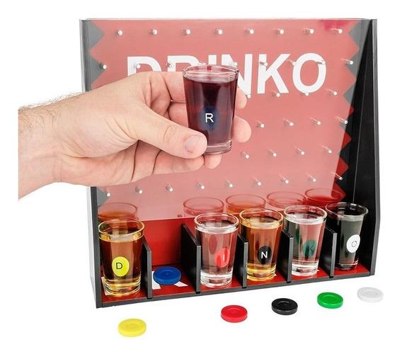 Juego Para Beber Drinko Shots Chupitos Drink Morph
