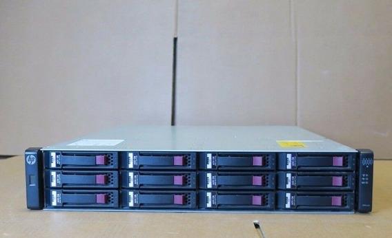 Storage 96tb Hp Msa P2000 Fc 8gb 12x Hd 8tb Enterprise 24h