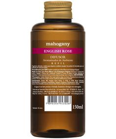Mahogany Refil De Difusor De Ambiente English Rose 150 Ml