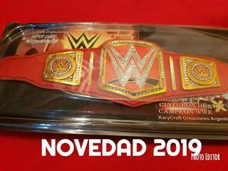 Cinturon Wwe Campeon Universal Edicion De Coleccion