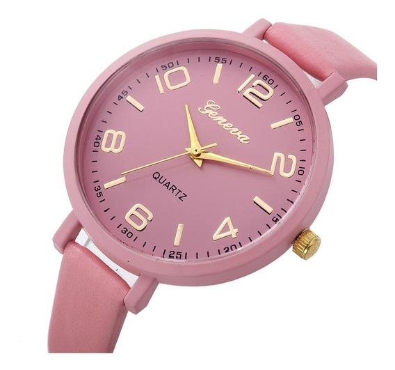 Elegante Reloj De Dama Mujer Correa Delgada Analogico