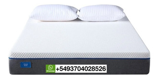 Colchon Alta Densidad 200x200 Con Memory Foam Sleep Box