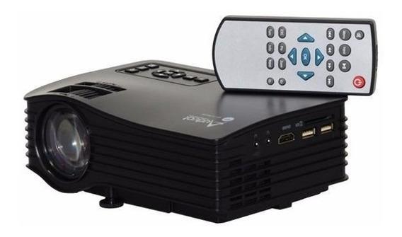 Projetor Audisat Pj-035 Wi Fi De 30 Ansi Lumens 1080p/hdmi/u