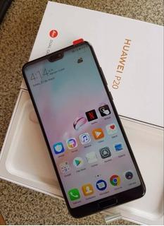 Huawei P20, 128gb, Accesorios, Factura