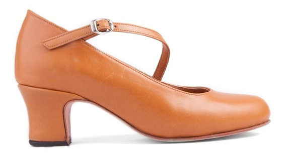 Zapatos De Español - Folklore - Danza Cuero Suela