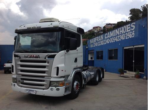 Scania G 380 6x2 2009/10 Baixa Quilometragem Ponta Para Trab