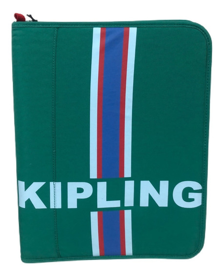 Fichário Escolar New Storer Kipling Pine Green Str Verde