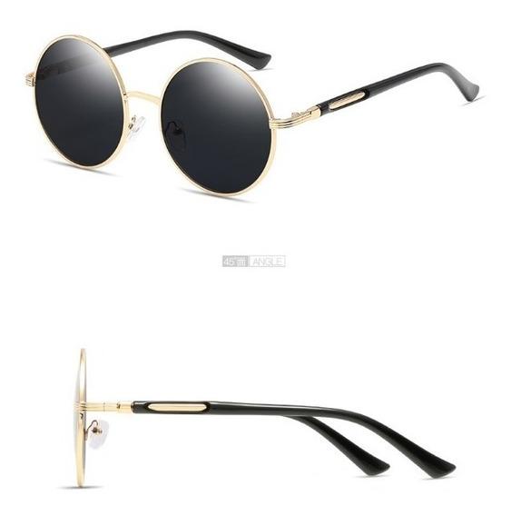 Gafas De Sol Redondas Retro Filtro Uv 400 Originales