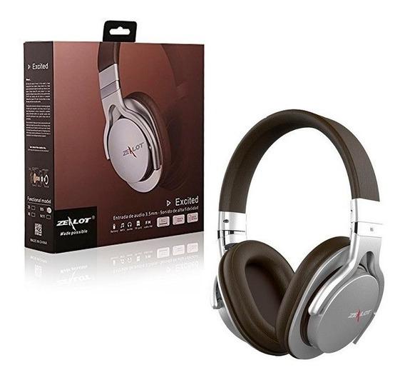 Fone Ouvido Headphone Microfone Interno Bluetooth Zealot B5