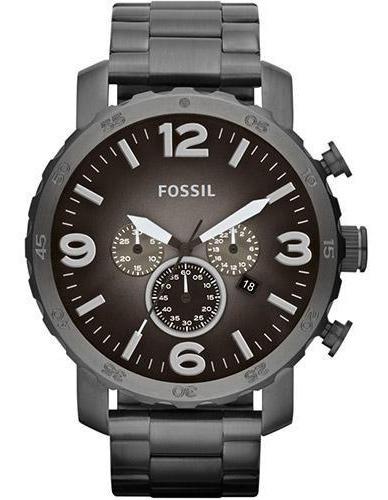 Relógio Masculino Fossil Analógico Fjr1437/z 50mm Grafite