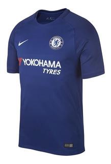 Camisa Jogo 1 Chelsea Nike 2018 Azul Original