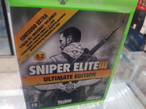 Imagem 1 de 4 de Sniper Elite 3  Usado Original Xbox One Midia Física +nf