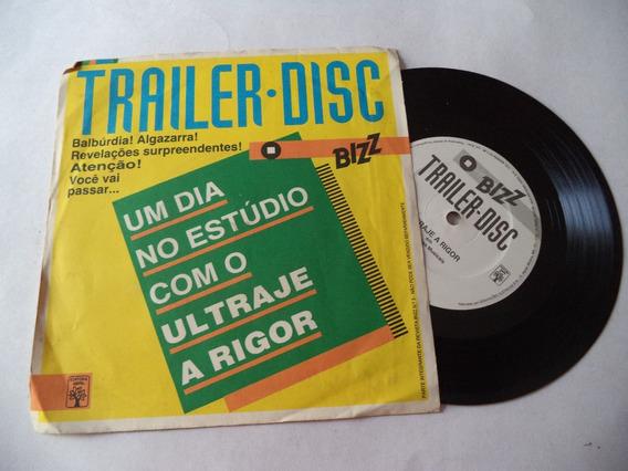Compacto De Vinil Trailer Disc - Ultraje A Rigor