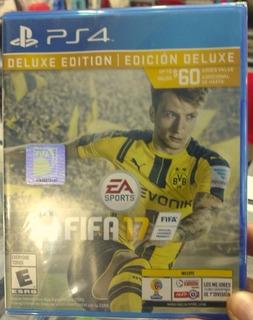 Fifa 17 Ps4 Latino Oficial Deluxe Edition Sellado Oferta!!