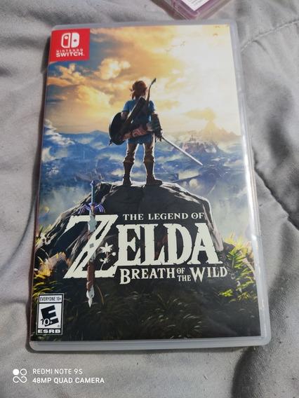 Jogo The Legend Of Zelda Breath Of. The Will Pra Nintendo