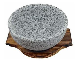Tazon De Piedra Natural Para Bibimbap Y Sopa 36 Oz