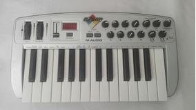 Teclado Controlador E Interfaz De Audio M-audio