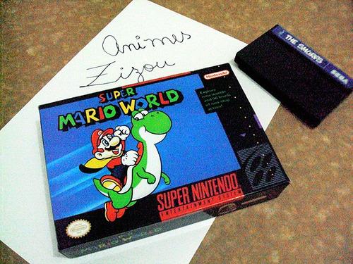 Caixa Super Mario World Snes
