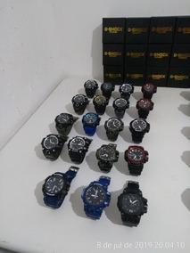 Kit Com 3 Relógios G-shock Mais As Caixinhas
