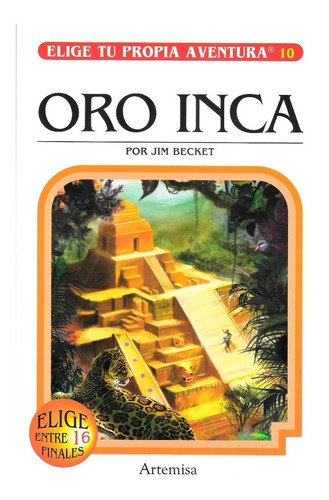 Imagen 1 de 1 de Elige Tu Propia Aventura - Oro Inca - Editorial Artemisa