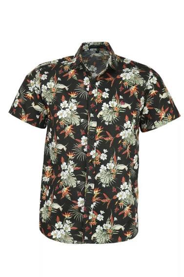 Camisa Amil Tauá Floral Verão Sem Bolso Lançamento 2019