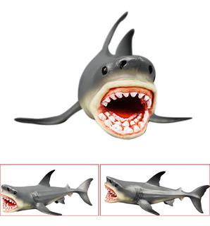 Megalodon Prehistórico Tiburón Océano Educación Animal Figur