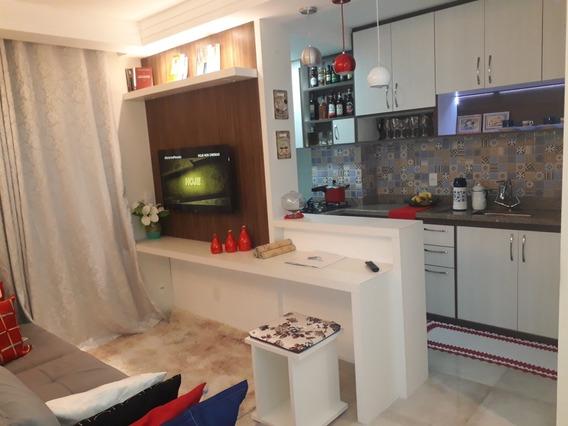 Apartamento Residêncial Aquarela - Vila Siqueira - 48 Metros