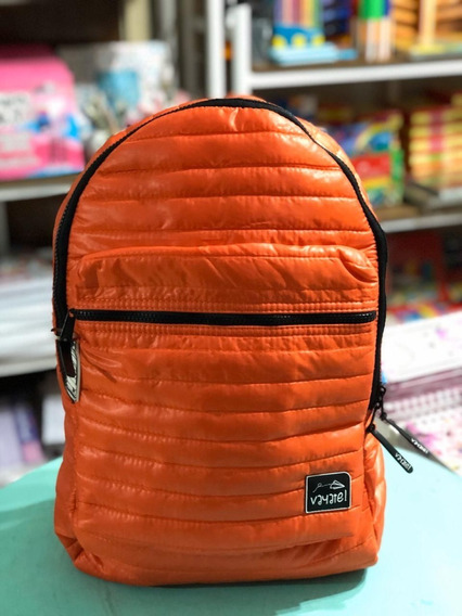 Mochila Vayate Modelo Nube Espalda Porta Notebook Naranja