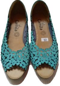 Zapato Flat Dama Marca Camila ~ Cositas.#1157