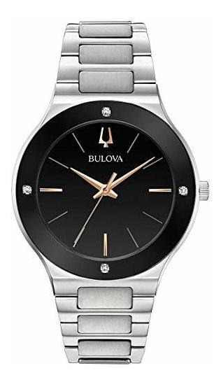 Bulova 96e117 Milenios Reloj Para Hombre Acero Inoxidable 16