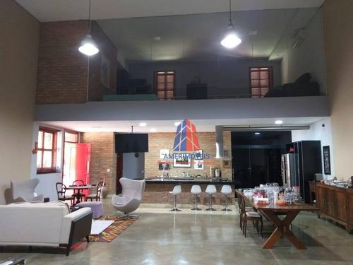 Casa Com 3 Dormitórios À Venda, 480 M² Por R$ 2.500.000 - Condomínio Portal Dos Nobres - Americana/sp - Ca1507
