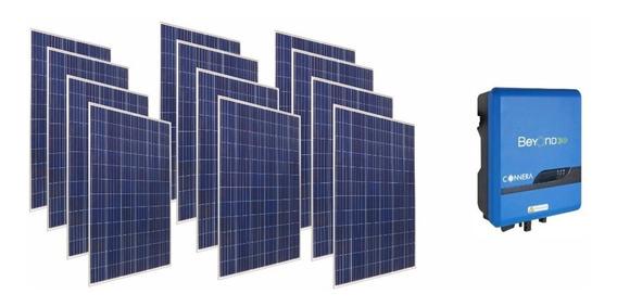 Planta Solar Interconexion A Cfe Monitoreo Wifi 3 Kwp Fide