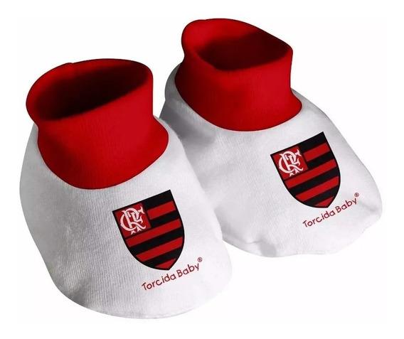 Pantufa Sapatinho Do Flamengo Mengão Para Bebê Oficial