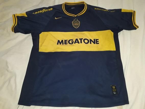 Camiseta Ca Boca Jrs Nike 2007 #14 Palacio Talle Xl Origi