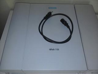 Pabx Siemens Hipath 1150 C/ E-1 02 Tr.40 Ramais Versão 7.0