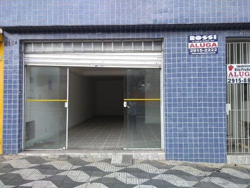 Salão Comercial Para Locação, Mooca, São Paulo. - Sl0116